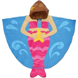 Stephen Joseph Little Girls Mermaid Poncho