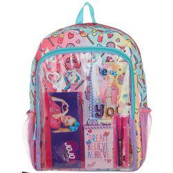Nickelodeon JoJo Girls Stationery Backpack Set