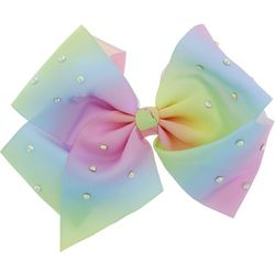 Capelli Girls LED Pastel Rainbow Hair Bow