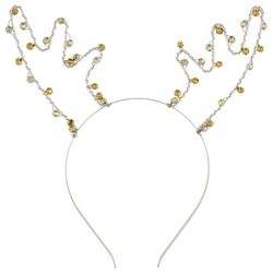 Capelli Girls Reindeer Antler Bell Headband