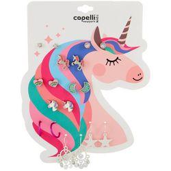 Capelli Girls 9-pk. Unicorn Earrings