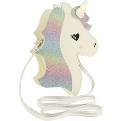 Capelli Girls Rainbow Glitter Unicorn Canteen Purse