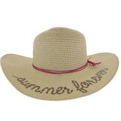 Capelli Girls Summer Forever Straw Hat