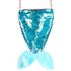 Olivia Miller Girls Mermaid Tail Crossbody Handbag