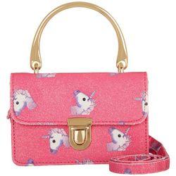 Olivia Miller S Glittery Unicorn Handbag