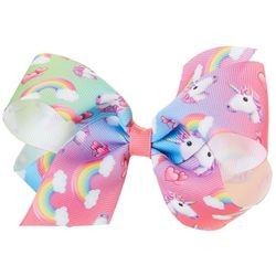 Such A Cutie Girls Unicorns & Rainbows Hair Bow