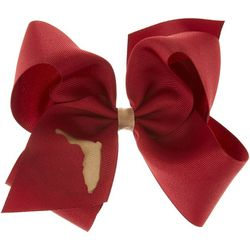 Florida State Girls Large FSU Hair Bow by Divine Creations