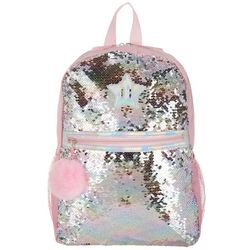 UPD Girls Sequin Star Backpack