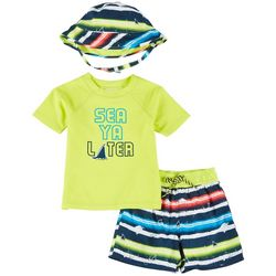 Floatimini Toddler Boys 3-pc. Sea Ya Later Set