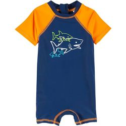 Floatimini Baby Boys 1-pc. Shark Rashguard