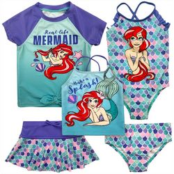 Disney Toddler Girls 5-pc. Mermaid Ariel Swimsuit Set