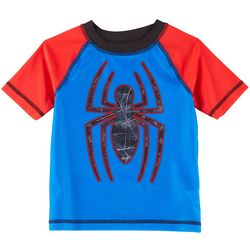 Marvel Toddler Boys Spider-Man Short Sleeve Rashguard