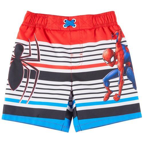 0e6a19a9b06b2 Marvel Toddler Boys Striped Spider-Man Swim Trunks   Bealls Florida