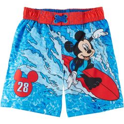 Disney Toddler Boys Mickey Mouse Surf Swim Shorts