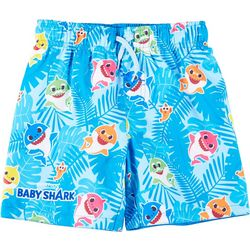 Baby Shark Toddler Boys Singing Swim Shorts