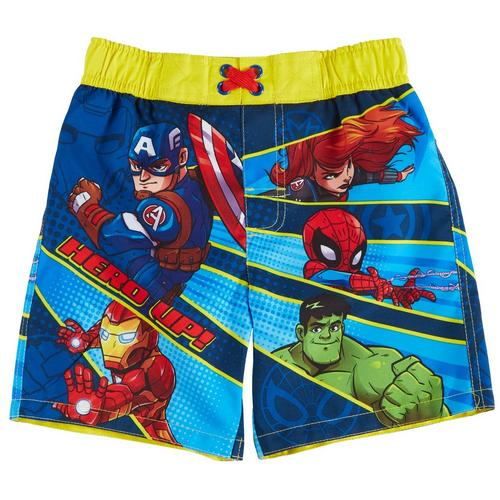 5f80205cb99be Marvel Avengers Toddler Boys Hero Up Swim Shorts | Bealls Florida