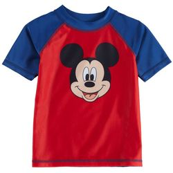 Disney Mickey Mouse Toddler Boys Mickey Raglan Rashguard