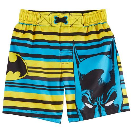d14518b71f DC Comics Batman Toddler Boys Striped Logo Swim Shorts | Bealls Florida