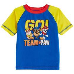 Nickelodeon Paw Patrol Toddler Boys Go Team Rashguard