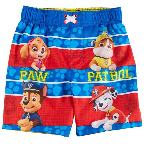 ed1f239943 Nickelodeon Paw Patrol Toddler Boys Striped Swim Shorts | Bealls Florida