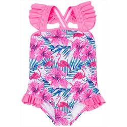 Nicole Miller New York Toddler Girls 1-pc. Flamingo Swimsuit