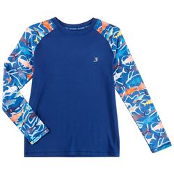 Reel Legends Toddler Boys Sarasota Shark Rashguard