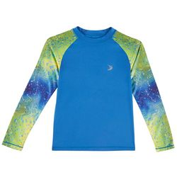 Reel Legends Toddler Boys Warped Dorado Rashguard