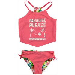 Tommy Bahama Toddler Girls Reversible Tankini Swimsuit