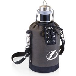 Tampa Bay Lightning Growler Tote with Stainless Growler