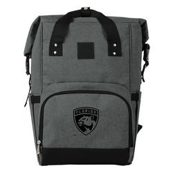 Florida Panthers On The Go Roll-Top Cooler Backpack