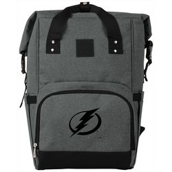 Tampa Bay Lightning On The Go Roll-Top Cooler Backpack
