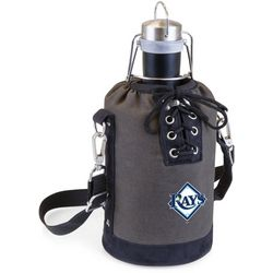 Tampa Bay Rays Growler Tote with Stainless Growler