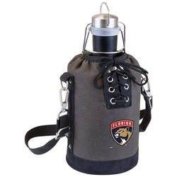 Florida Panthers Growler Tote with Stainless Growler