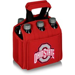Ohio State Six Pack Carrier by Picnic Time