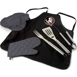Florida State BBQ Apron Tote Pro by Picnic Time