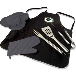 Green Bay Packer BBQ Apron Tote Pro