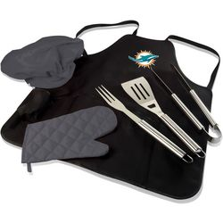 Miami Dolphins BBQ Apron Tote Pro by Picnic