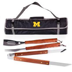 Michigan 3-pc. BBQ Tool Set