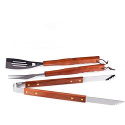 3-pc. BBQ Tote and Tool Set