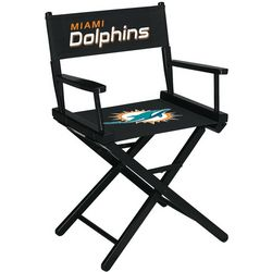 Miami Dolphins Table Height Directors Chair