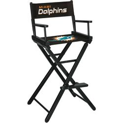 Miami Dolphins Bar Height Directors Chair