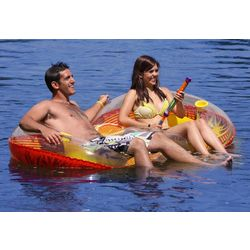 Airhead Ez Breeze Duo Inflatable Float