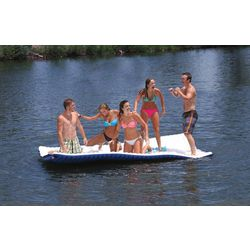 Airhead Gang Plank Floating Island Water Lounger