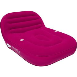 SunComfort Cool Suede Double Chaise Lounge Float