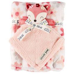 Chick Pea Baby Girls 2-pc. Fox Nunu & Blanket Set