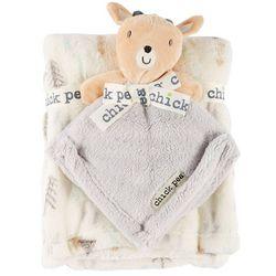 Chick Pea Baby Boys 2-pc. Deer Nunu & Blanket Set