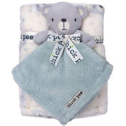 Chick Pea Baby Boys 2-pc. Bear Nunu & Blanket Set