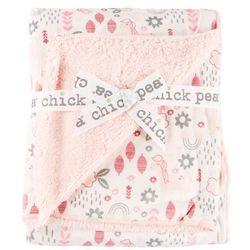 Chick Pea Baby Girls Unicorn Baby Blanket