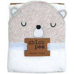 Chick Pea Baby Bear Hooded Towel