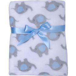 Cutie Pie Baby Baby Boys Elephant Blanket